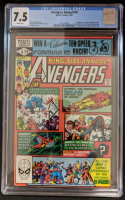 """1981 """"The Avengers"""" Annual Issue #10 Marvel Comic Book (CGC 7.5) at PristineAuction.com"""