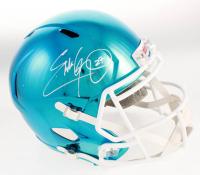 Eddie George Signed Full-Size Chrome Speed Helmet (Beckett COA) at PristineAuction.com