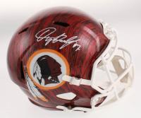 Dwayne Haskins Signed Washington Redskins Full-Size Hydro-Dipped Speed Helmet (JSA COA) at PristineAuction.com