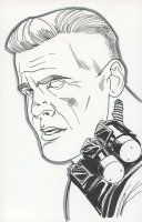 "Tom Hodges - Cable - Marvel Signed ORIGINAL 5.5"" x 8.5"" Color Drawing on Paper (1/1) at PristineAuction.com"
