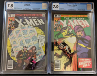 "Lot of (2) 1981 ""Uncanny X-Men"" Marvel Comic Books with #141 (CGC 7.5) & #142 (CGC 7.0) at PristineAuction.com"