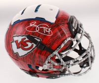 Sammy Watkins Signed Kansas City Chiefs Full-Size Authentic On-Field F7 Hydro-Dipped Helmet (Beckett COA) at PristineAuction.com