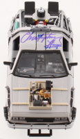"Christopher Lloyd Signed ""Back to the Future Part III"" DeLorean 1:24 Diecast Car (Beckett COA) at PristineAuction.com"