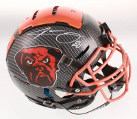 Jarvis Landry Signed Cleveland Browns Full-Size Authentic On-Field F7 Hydro-Dipped Helmet (JSA COA) at PristineAuction.com