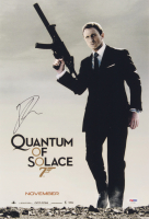 "Daniel Craig Signed ""Quantum of Solace"" 12x18 Photo (PSA COA) at PristineAuction.com"