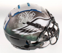 Brian Dawkins Signed Philadelphia Eagles Full-Size Authentic On-Field F7 Hydro-Dipped Helmet (JSA COA) at PristineAuction.com