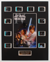 """Star Wars: Episode IV – A New Hope"" LE 8x10 Custom Matted Original Film / Movie Cell Display at PristineAuction.com"