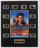 """Top Gun"" LE 8x10 Custom Matted Original Film / Movie Cell Display at PristineAuction.com"