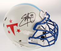 Eddie George Signed Tennessee Titans Full-Size Authentic On-Field Helmet (Beckett COA) at PristineAuction.com