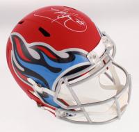 Eddie George Signed Tennessee Titans Full-Size AMP Alternate Speed Helmet (Beckett COA) at PristineAuction.com