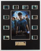 """Harry Potter & the Order of the Phoenix"" LE 8x10 Custom Matted Original Film / Movie Cell Display at PristineAuction.com"