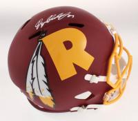 Dwayne Haskins Signed Washington Redskins Full-Size AMP Alternate Speed Helmet (JSA COA) at PristineAuction.com