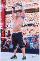 John Cena Signed WWE 8x12 Photo (Beckett COA) at PristineAuction.com