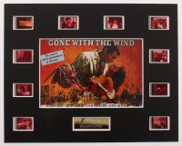 """Gone with the Wind"" LE 8x10 Custom Matted Original Film / Movie Cell Display at PristineAuction.com"