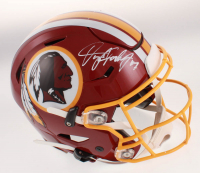 Dwayne Haskins Signed Washington Redskins Full-Size Authentic On-Field SpeedFlex Helmet (JSA COA) at PristineAuction.com