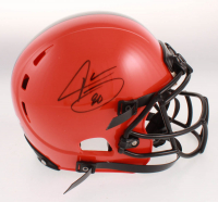 Jarvis Landry Signed Cleveland Browns Full-Size Authentic On-Field Helmet (JSA COA) at PristineAuction.com