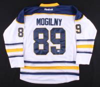 Alexander Mogilny Signed Buffalo Sabres Jersey (JSA Hologram) at PristineAuction.com