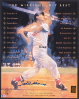 Ted Williams Signed Boston Red Sox 16x20 Poster (Beckett LOA & Williams Hologram) at PristineAuction.com