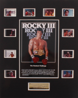 """Rocky III"" LE 8x10 Custom Matted Original Film / Movie Cell Display at PristineAuction.com"