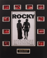 """Rocky"" LE 8x10 Custom Matted Original Film / Movie Cell Display at PristineAuction.com"