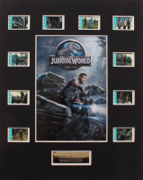 """Jurassic World"" LE 8x10 Custom Matted Original Film / Movie Cell Display at PristineAuction.com"