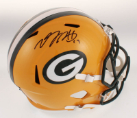 Davante Adams Signed Green Bay Packers Full-Size Speed Helmet (JSA COA) at PristineAuction.com