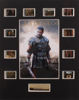 """""""Gladiator"""" LE 8x10 Custom Matted Original Film / Movie Cell Display at PristineAuction.com"""