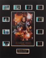 """""""Rogue One: A Star Wars Story"""" LE 8x10 Custom Matted Original Film / Movie Cell Display at PristineAuction.com"""