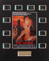 """""""Die Hard"""" LE 8x10 Custom Matted Original Film / Movie Cell Display at PristineAuction.com"""