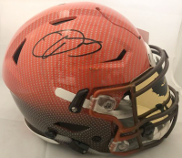 Odell Beckham Jr. Signed Cleveland Browns Full-Size Authentic On-Field Hydro-Dipped SpeedFlex Helmet (JSA COA) at PristineAuction.com