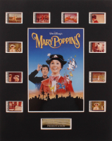 """""""Mary Poppins"""" LE 8x10 Custom Matted Original Film / Movie Cell Display at PristineAuction.com"""