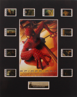 """""""Spider-Man"""" LE 8x10 Custom Matted Original Film / Movie Cell Display at PristineAuction.com"""