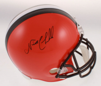 Nick Chubb Signed Cleveland Browns Full-Size Helmet (JSA COA) at PristineAuction.com
