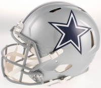 Amari Cooper Signed Dallas Cowboys Full-Size Authentic On-Field Speed Helmet (Beckett COA) at PristineAuction.com