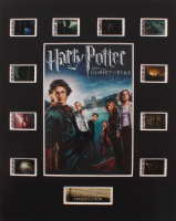"""""""Harry Potter & The Goblet of Fire"""" LE 8x10 Custom Matted Original Film / Movie Cell Display at PristineAuction.com"""