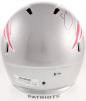Julian Edelman Signed New England Patriots Full-Size Speed Helmet (Beckett COA) at PristineAuction.com