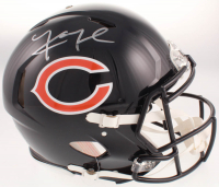 Khalil Mack Signed Chicago Bears Full-Size Authentic On-Field Speed Helmet (Beckett COA) at PristineAuction.com