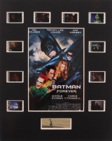 """Batman Forever"" LE 8x10 Custom Matted Original Film / Movie Cell Display at PristineAuction.com"