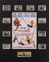 """Monkey Business"" LE 8x10 Custom Matted Original Film / Movie Cell Display at PristineAuction.com"