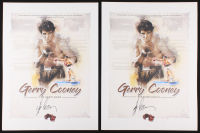 Lot of (2) Gerry Cooney Signed 18x24 Lithographs (JSA Hologram) at PristineAuction.com