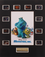 """""""Monsters, Inc."""" LE 8x10 Custom Matted Original Film / Movie Cell Display at PristineAuction.com"""