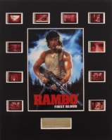 """Rambo: First Blood"" LE 8x10 Custom Matted Original Film / Movie Cell Display at PristineAuction.com"