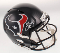 Keke Coutee Signed Houston Texans Full-Size Speed Helmet (Beckett COA) at PristineAuction.com