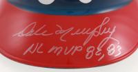 "Dale Murphy Signed Atlanta Braves Helmet Inscribed ""NL MVP 82, 83"" (JSA COA) at PristineAuction.com"