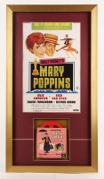 "Walt Disney's ""Mary Poppins"" 16.5x30 Custom Framed Film Reel Display at PristineAuction.com"