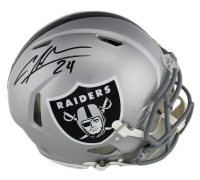 Charles Woodson Signed Oakland Raiders Full-Size Authentic On-Field Speed Helmet (Radtke COA) at PristineAuction.com