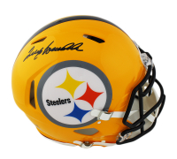 Terry Bradshaw Signed Pittsburgh Steelers Full-Size Authentic On-Field Speed Helmet (Radtke COA) at PristineAuction.com
