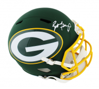 Brett Favre Signed Packers Full-Size AMP Alternate Speed Helmet (Radtke COA) at PristineAuction.com