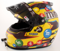 Kyle Busch Signed NASCAR M&M Full-Size Helmet (PA COA) at PristineAuction.com
