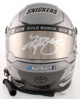 Kyle Busch Signed NASCAR Snickers 500th Start Full-Size Helmet (PA COA) at PristineAuction.com